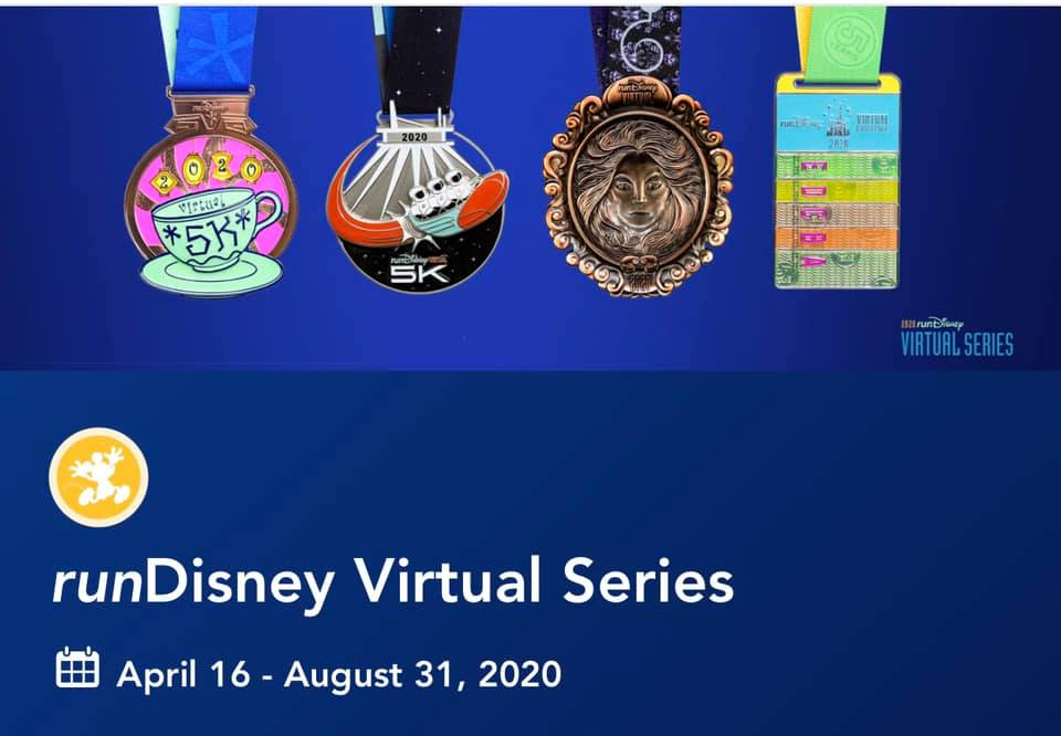 runDisney Virtual Series MEDAL